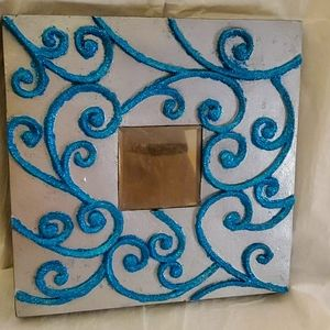 13x13 wall hanging mirror tile